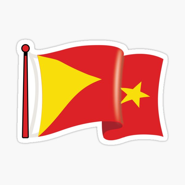 Tigray flag waving  Sticker