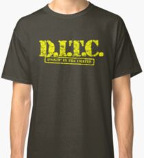 DITC crew replica Rawkus tshirt - Diggin in the crates late 90s Classic T-Shirt