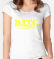 DITC crew replica Rawkus tshirt - Diggin in the crates late 90s Women's Fitted Scoop T-Shirt