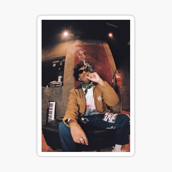 Brent Faiyaz Smoking Sticker