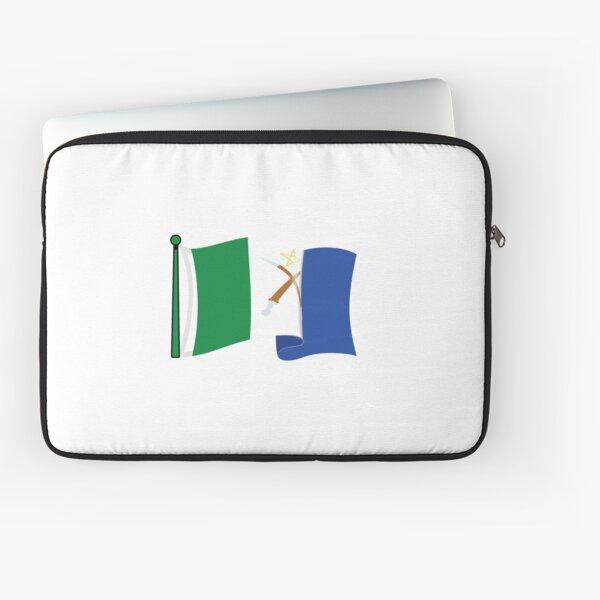 Afar flag waving  Laptop Sleeve