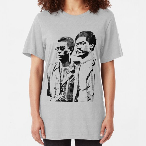 Stokely Carmichael and Bobby Seale Slim Fit T-Shirt