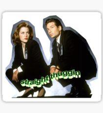 Dana Scully/Fox Mulder Sticker