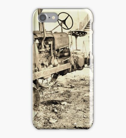 The Old Classic Tractor iPhone Case/Skin