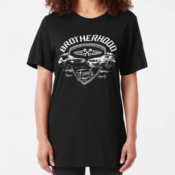 Fast and Furious - Brotherhood Slim Fit T-Shirt