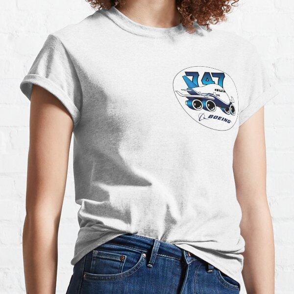 Boeing 747 logo design Classic T-Shirt