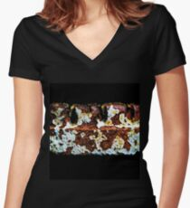 Great Decay Women's Fitted V-Neck T-Shirt