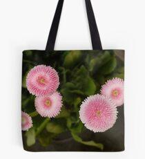 Circles Pink Tote Bag
