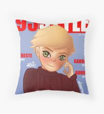 Adrien's covers. Throw Pillow