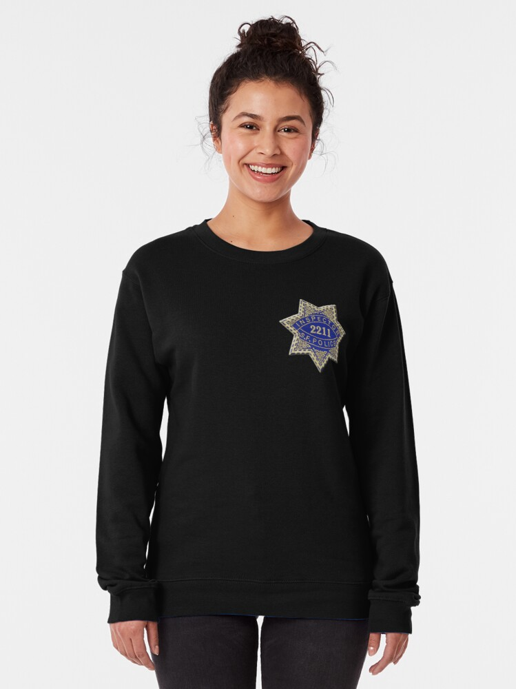 Alternate view of San Francisco Police Inspector Pullover Sweatshirt