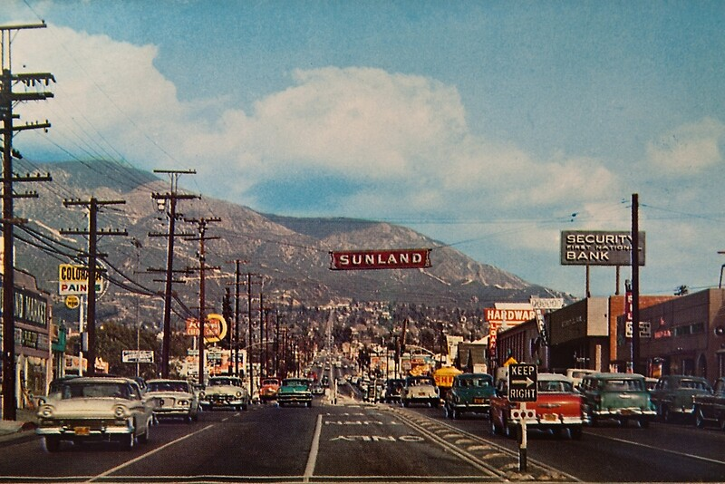 Quot Sunland California 1950 S Quot Photographic Prints By