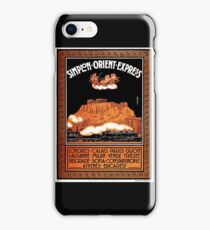 Art Deco Orient Express advertising Athens travel ad iPhone Case/Skin