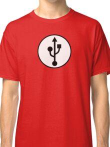 USB SYMBOL Classic T-Shirt