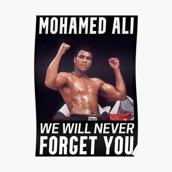 Mohamed Ali Poster
