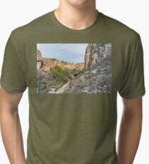 House on a Mountain Tri-blend T-Shirt