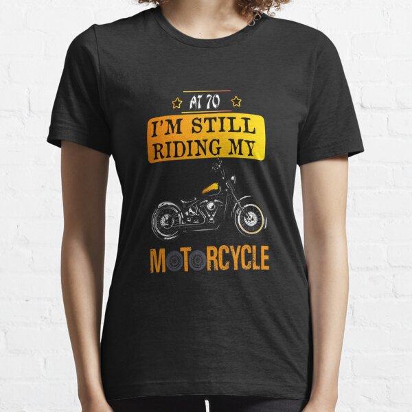 t shirt think bike funny biker gift birthday dad motorbike mens him tshirt