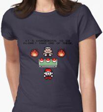 Zelda Pokemon Womens Fitted T-Shirt
