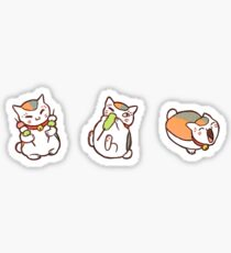 Nyanko Sensei & Food Sticker