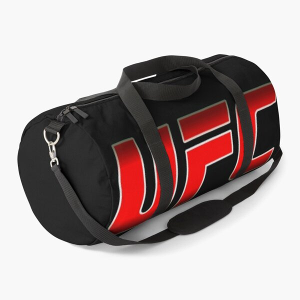 UFC logo. RED METAL. Duffle Bag