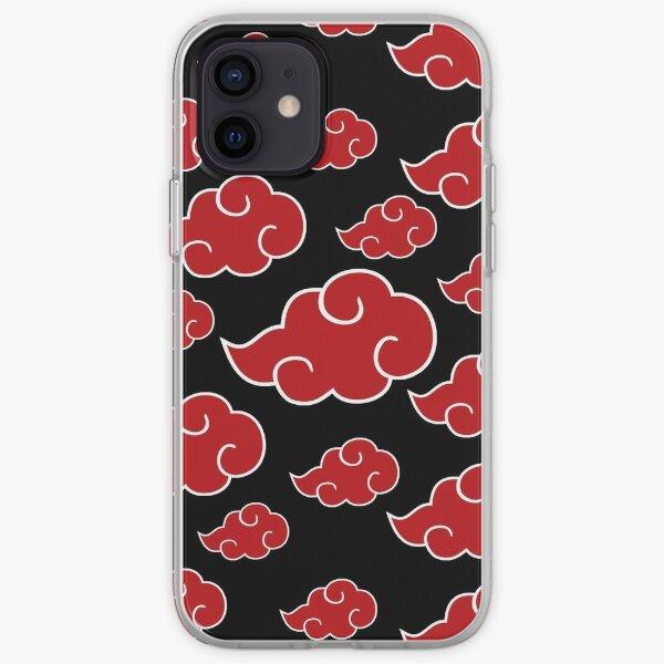 nubes rojas akat-suki na-ruto Funda blanda para iPhone