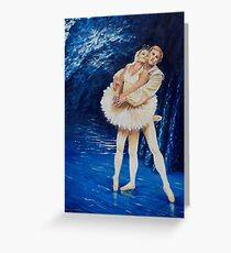 Ballet on the water Greeting Card