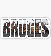 Bruges. Sticker