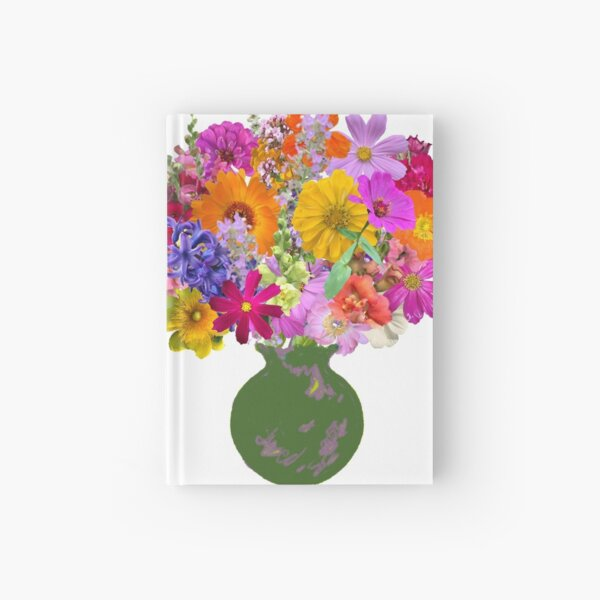 First day of spring bouquet sticker by Tea with Xanthe Hardcover Journal