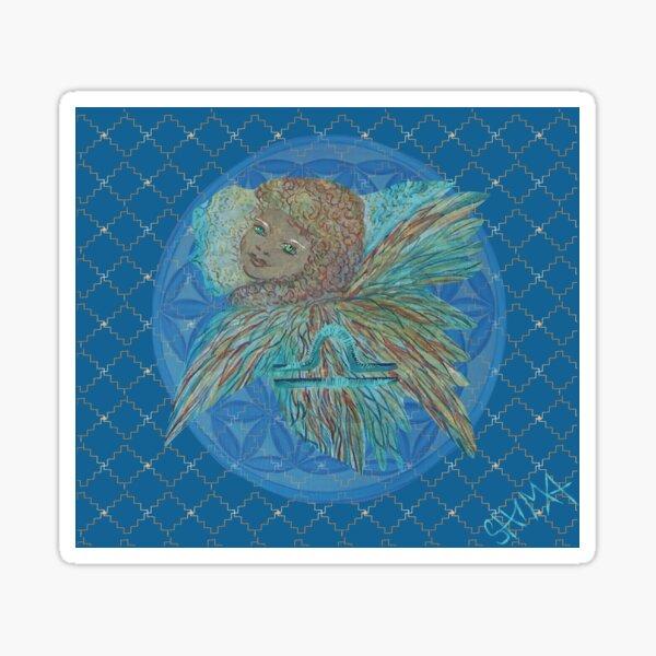Angel child Libra Sticker
