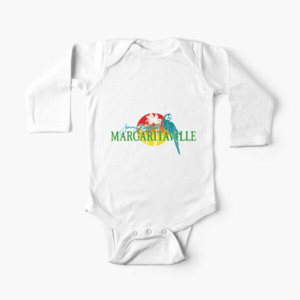 margarita parrot Long Sleeve Baby One-Piece