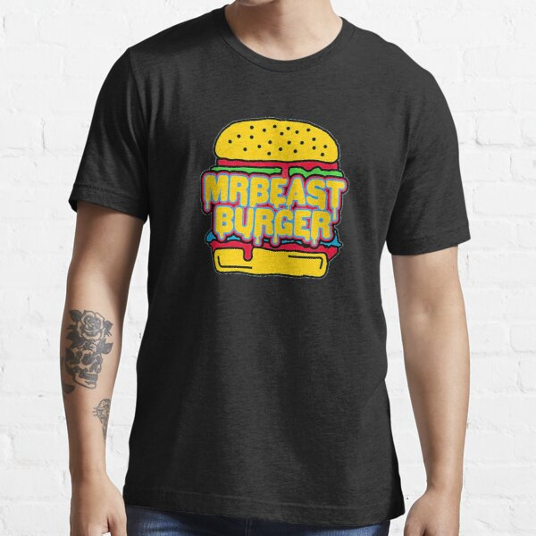 MrBeast Burger Large Logo Fan Merchandise! Essential T-Shirt