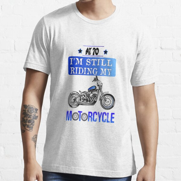 Est 70s Dad Father Grandad Birthday Gift Present Mens Tumblr Biker T Shirt