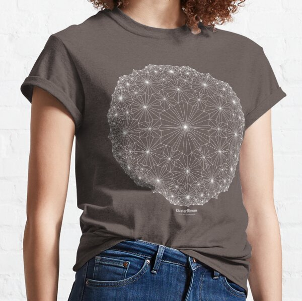 Cluster Blossoms [white design] Classic T-Shirt