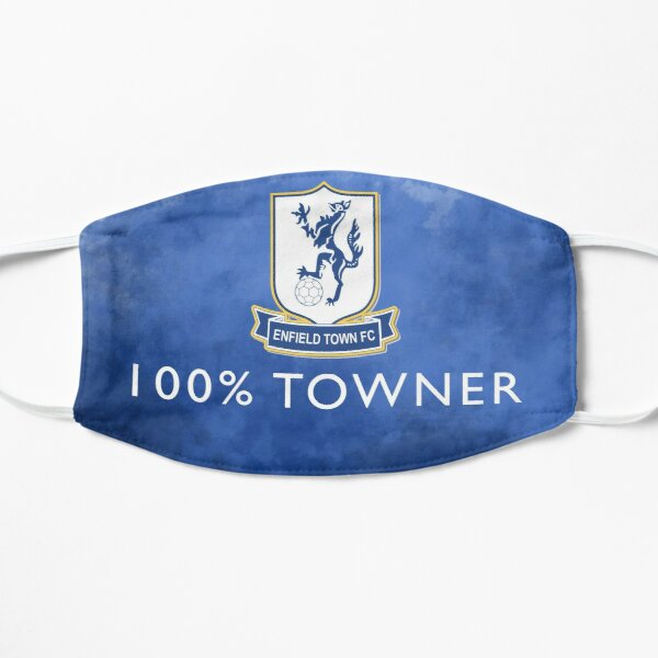 100% Towner - Enfield Town Football Club  Flat Mask