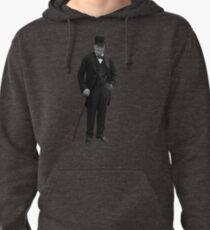 Winston Churchill Pullover Hoodie