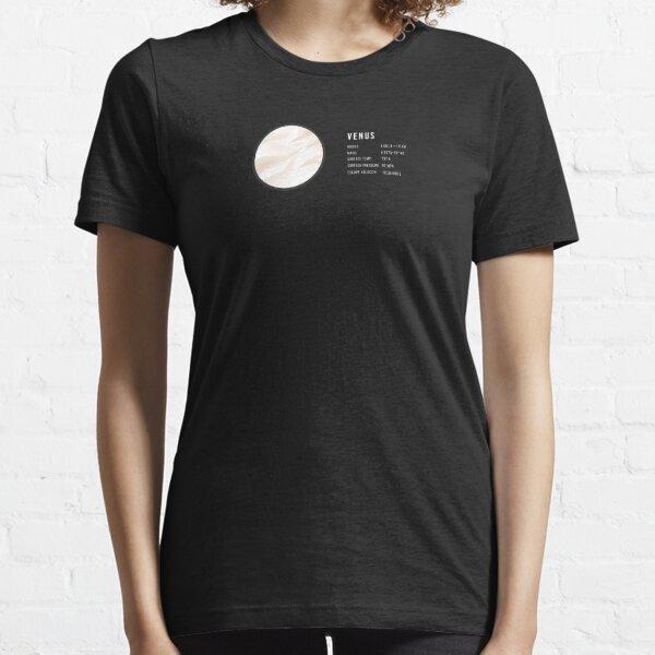 Informatic Astronomy Design Of Venus Essential T-Shirt