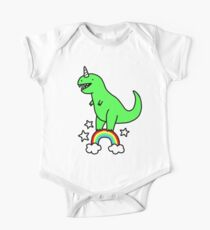 T-Rexicorn Short Sleeve Baby One-Piece