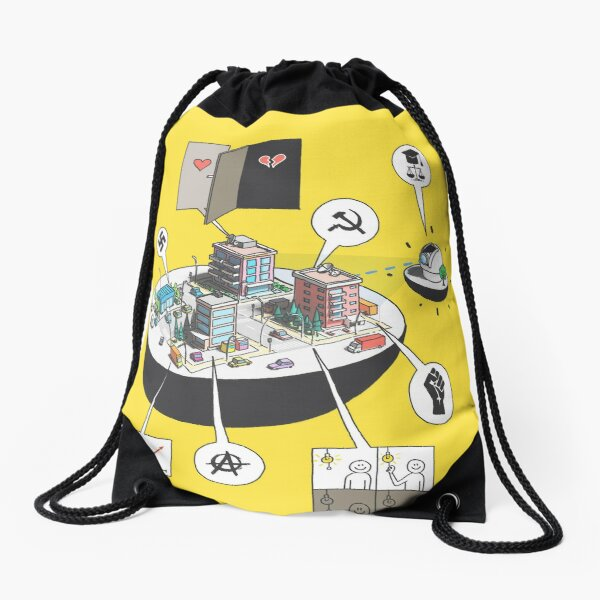 The Business of science Drawstring Bag