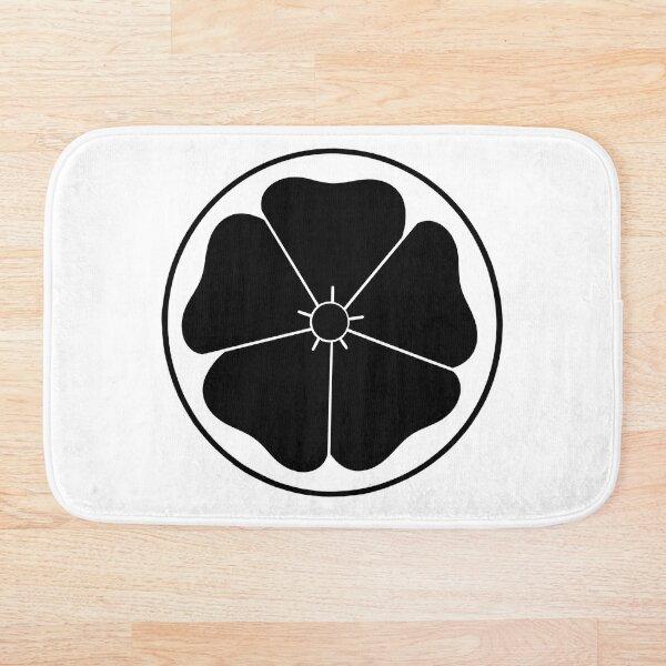 Black Cherry Blossom Bath Mat
