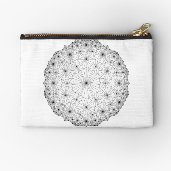 Cluster Blossoms Zipper Pouch