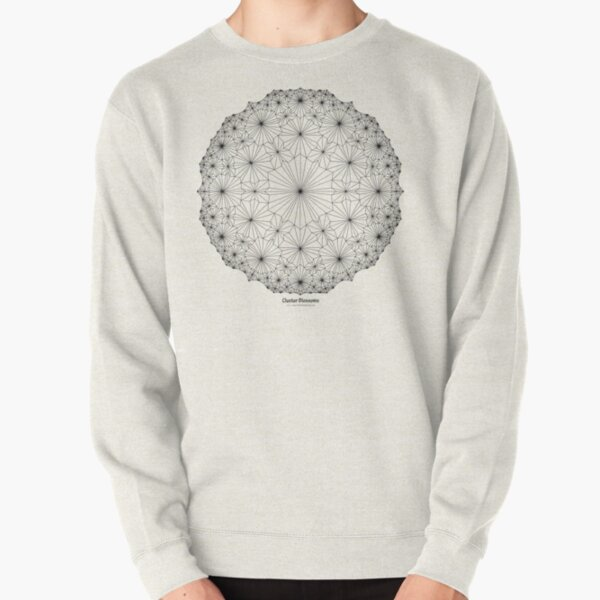 Cluster Blossoms Pullover Sweatshirt