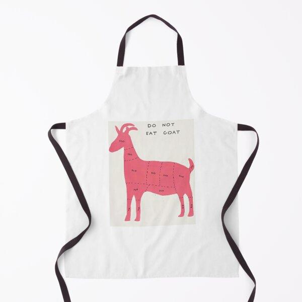 Do Not Eat Goat Apron