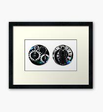 Doctor Who - 10th Doctor - David Tennant/Companions Mugs Framed Print