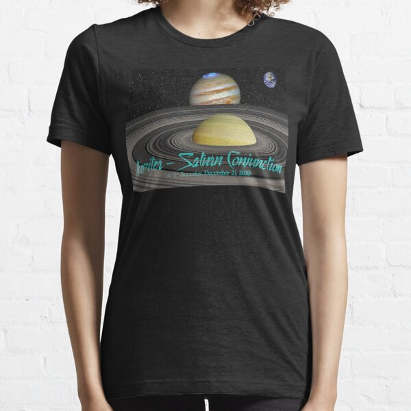 Jupiter - Saturn Conjunction Essential T-Shirt