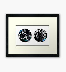 Doctor Who - 110th Doctor - David Tennant/Monsters Mugs Framed Print