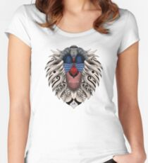 Ornate Rafiki Vol. 2 Colored Women's Fitted Scoop T-Shirt