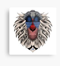 Ornate Rafiki Vol. 2 Colored Metal Print