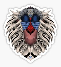 Ornate Rafiki Vol. 2 Colored Sticker