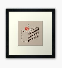 Cake (honest!) Framed Print