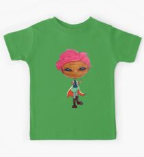 a wand-wielding, dueling-poised!tonks Kids Tee
