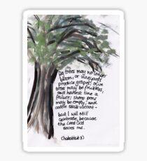 Habakkuk 3: Celebrate Sticker